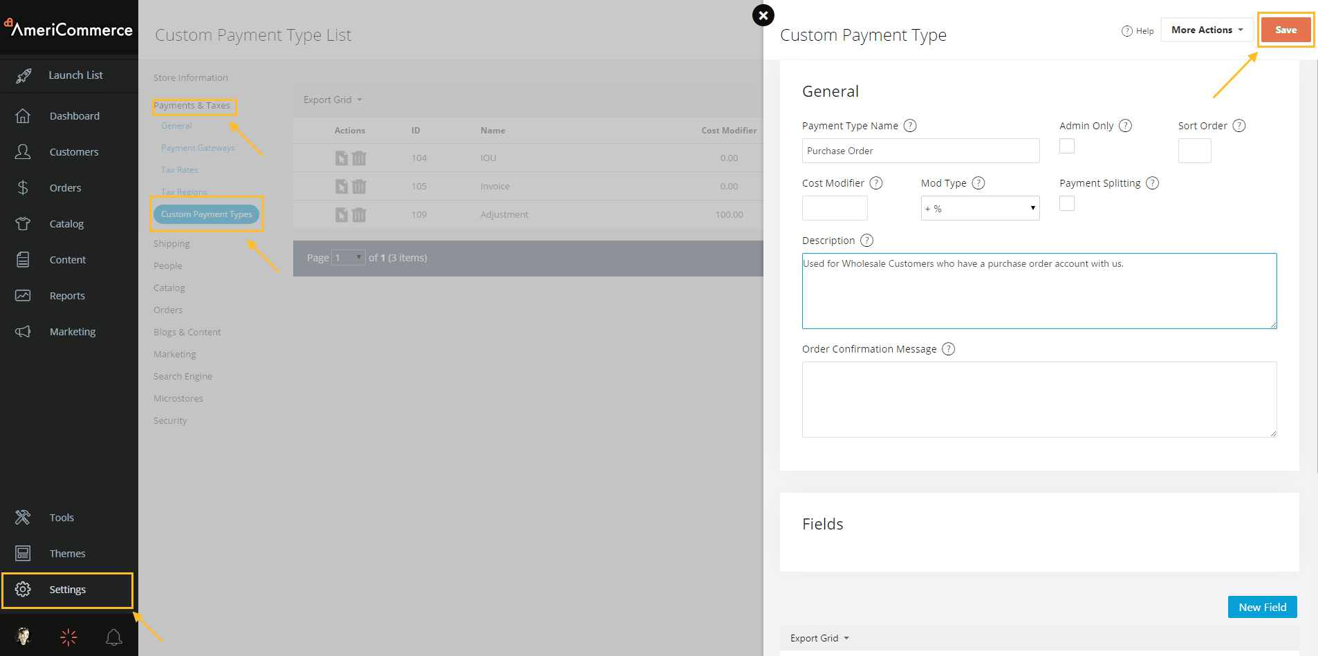 Creating a Custom Payment Method – Knowledge Center